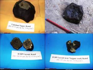 Nagpur, región india de Katol, cae un meteorito el 22 de mayo de 2012 – Incluye fotos de meteorito