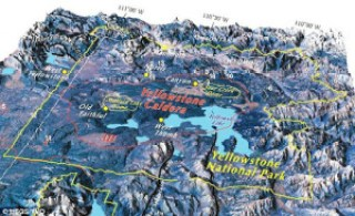 yellowstone caldera - Super Volcanic Eruptions with the Potential to End Civilizations