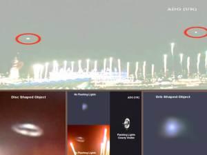 Dos OVNIs olimpicos confirmados, 2012