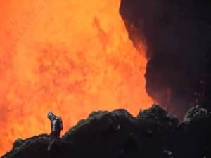 El vídeo de un volcán más increíble jamás filmado