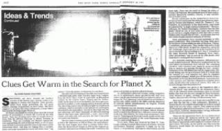 ¿Está buscando la NASA a Nibiru/Planeta X con un telescopio especial? 2