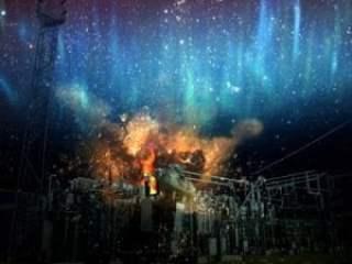 Tormenta magnética, el universo