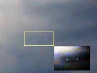 OVNI UFO tormenta sandy