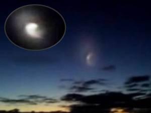 Objeto en espiral aparece sobre Gold Coast, Australia – 19 de diciembre 2012