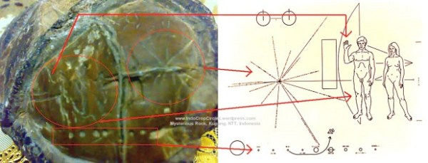 ¿Se ha encontrado un mapa estelar alienígena en Kupang, Indonesia?