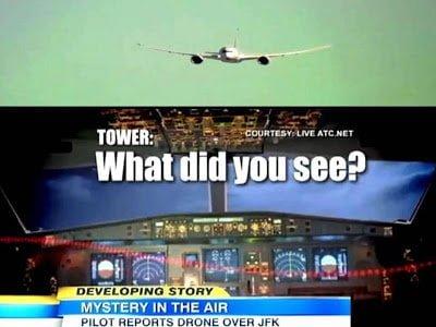 Piloto reporta misterioso objeto sobre el aeropuerto JFK – 05 de marzo 2013
