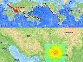Gran terremoto de 7,8 golpeó Kash, Irán – 16 de abril 2013