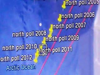 Cambio de polo: El polo norte magnético se ha desplazado 161 millas en 6 meses – junio 2013