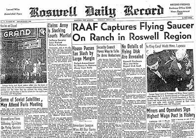 Documentales del incidente de Roswell