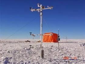 Anomalía positiva en la Antártida. Brusco cambio de temperatura de unos 70 grados 1