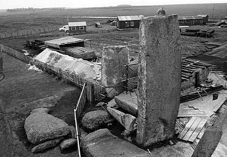 ¿Ha sido reconstruido Stonehenge? 4