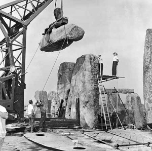 ¿Ha sido reconstruido Stonehenge? 3