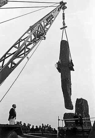 ¿Ha sido reconstruido Stonehenge? 8