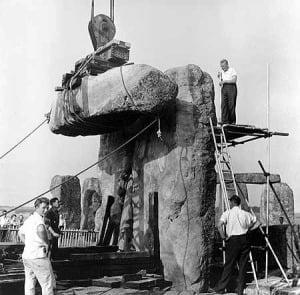 ¿Ha sido reconstruido Stonehenge? 2