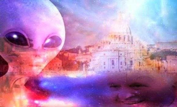 ¿Sabe el Papa la verdad sobre los extraterrestres?