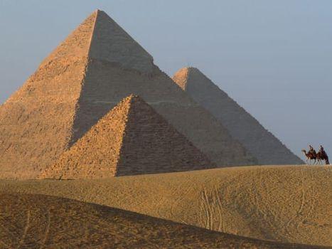 Pirámides de Giza: Evidencia de máquinas antiguas