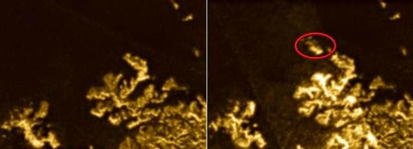 Científicos desconcertados por un objeto misterioso en Titán
