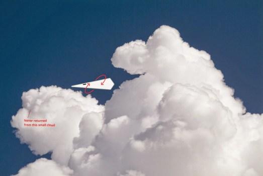 OVNI con forma de cono se cierne sobre la India bajo capa de nubes
