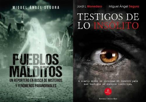 Pueblos malditos de Miguel Ángel Segura (libro)