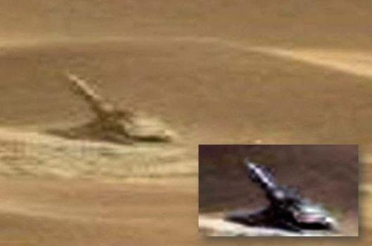 ¿Arma alienígena encontrada en Marte?