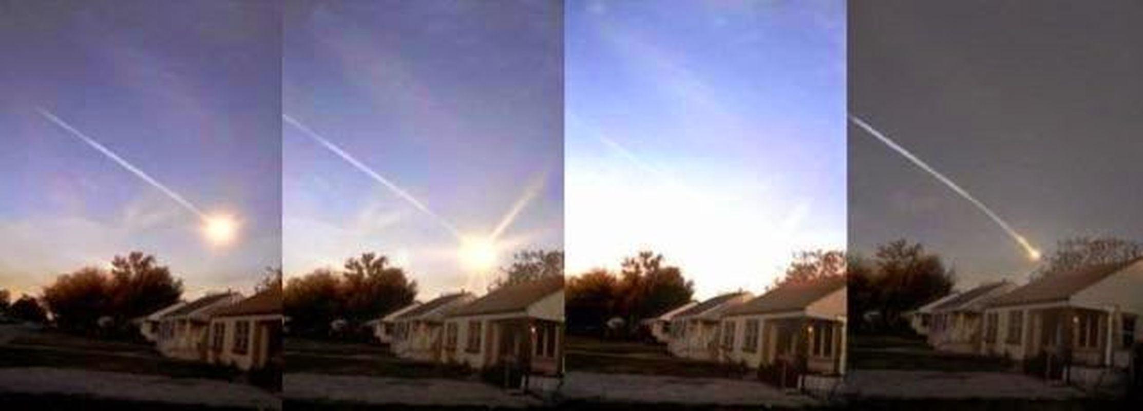 Meteoro estalla en el cielo de Oklahoma