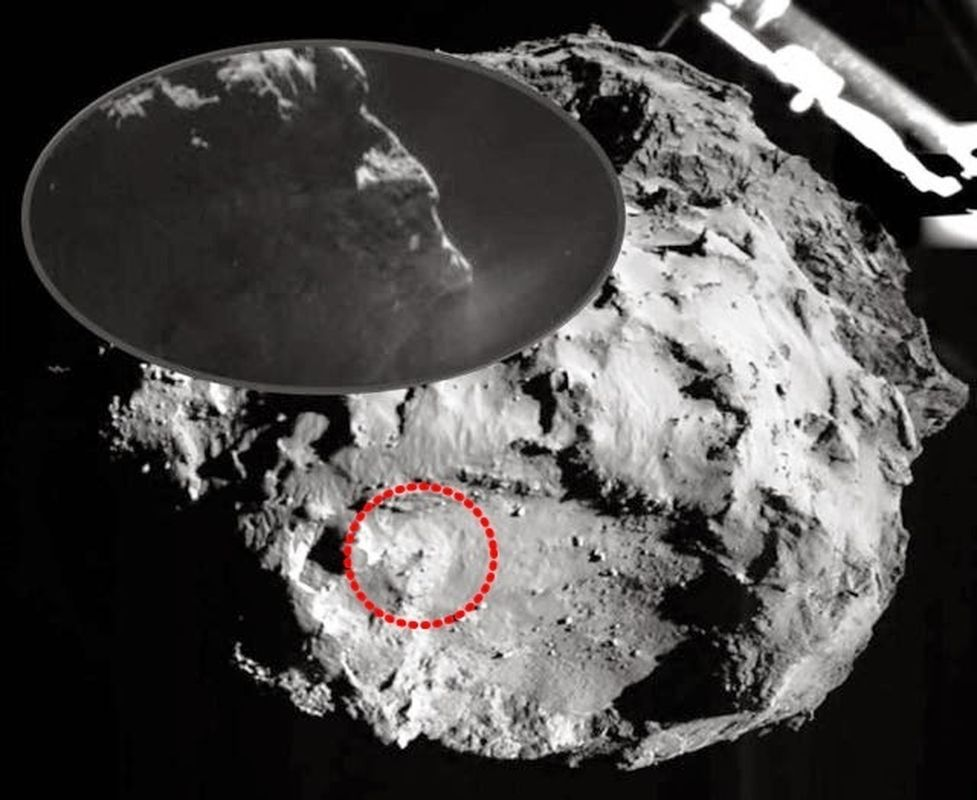 Primeras imágenes de Rosetta-Philae