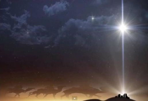 La estrella de Belén adorna el cielo nocturno de nuevo