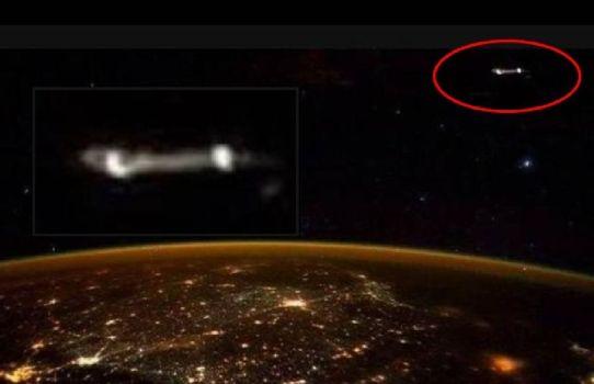 Scott Kelly Tuitea Foto De Un OVNI Desde La ISS
