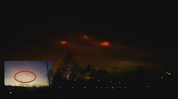 Luces extrañas en el cielo de los Países Bajos