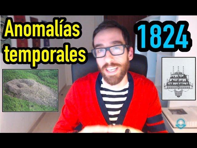 Anomalías temporales desde 1824 en el cráter Patomskyi