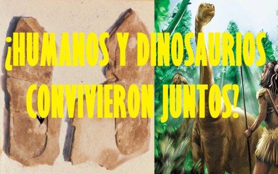 ¿Humanos y Dinosaurios convivieron juntos?