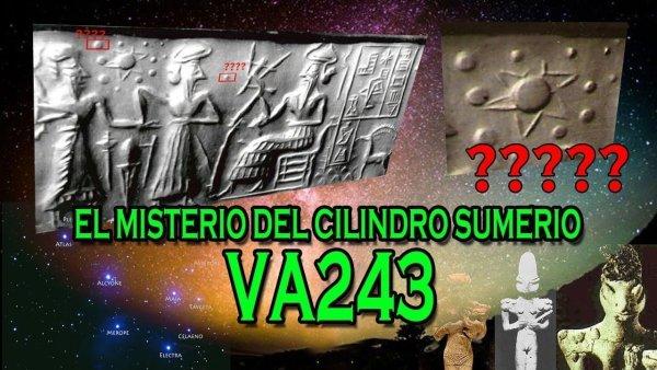 El misterio del cilindro sumerio VA243