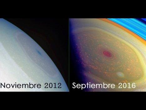 El Misterioso Hexágono de Saturno Cambia de Color