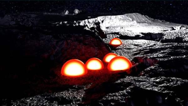 Cúpulas Extraterrestres en la Cara Oculta de la Luna