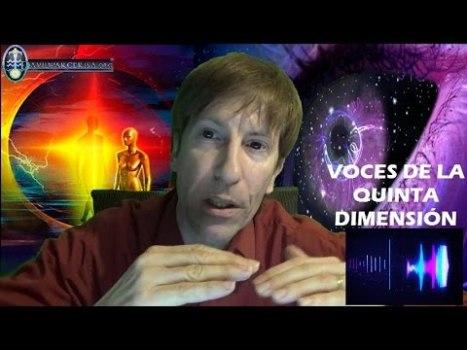 Voces Grabadas De Seres De Quinta Dimensión