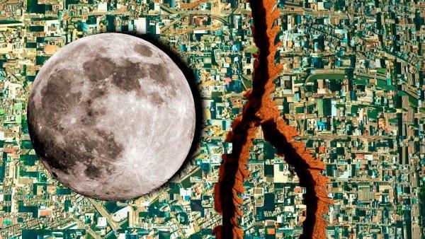 La Luna y los Terremotos