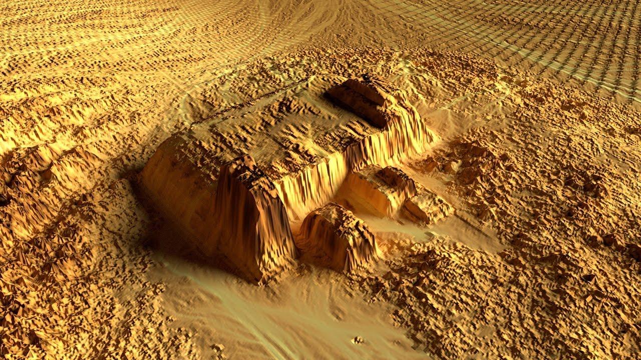 Grandes Edificios en Marte