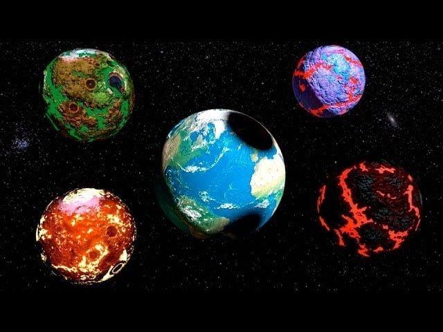 La Tierra tuvo Muchas Lunas en el Pasado