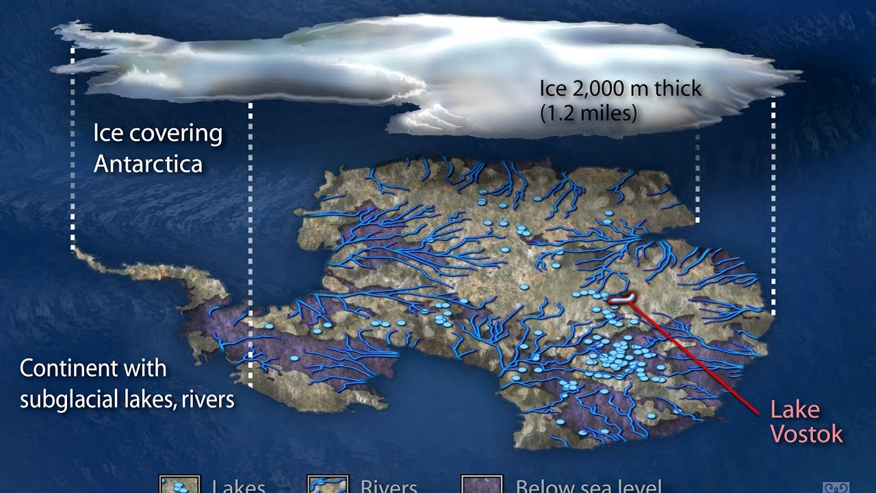 Los 5 Misterios Más Grandes de la Antártida