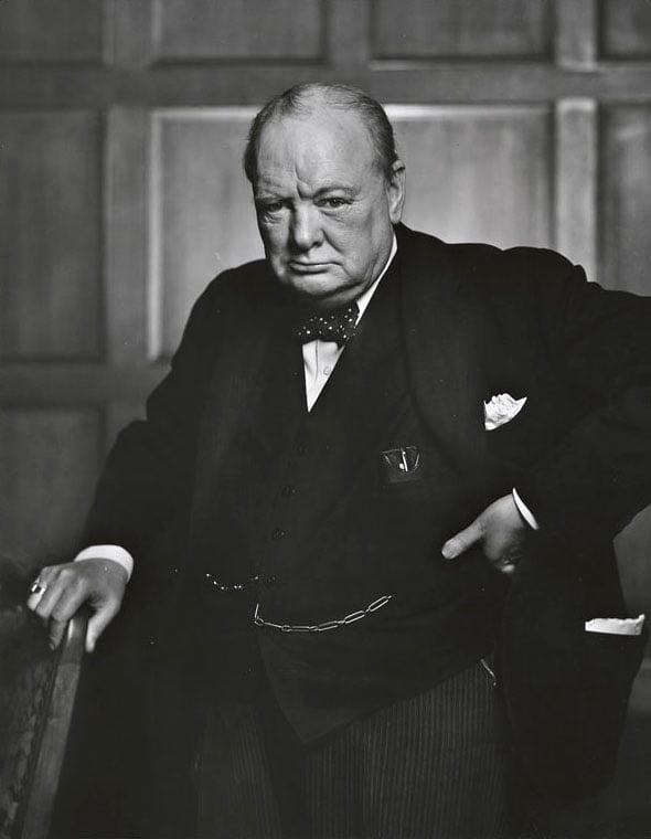 Ensayo inédito de Winston Churchill sobre la vida extraterrestre