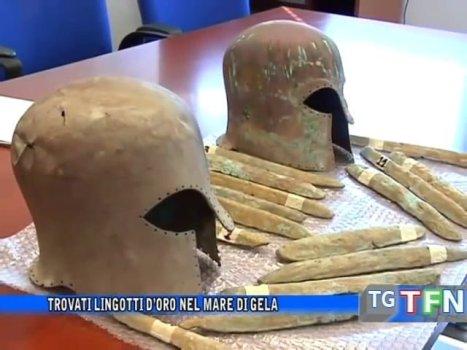 Arqueólogos recuperan 47 piezas hechas del legendario «oro de la Atlántida»