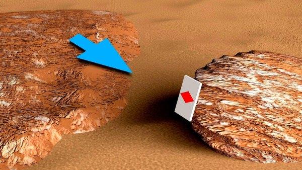 ¿Puede usted decirme qué hace esto en Marte?