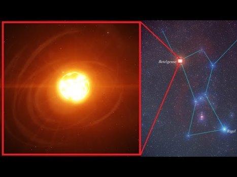 ¿Es la estrella Betelgeuse un peligro para la Tierra?