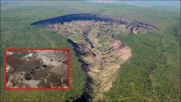 Misterioso Cráter de Siberia que Crece Cada Año y Desvela un Misterio Increíble