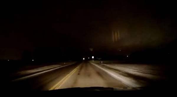 Misteriosos rayos de luz aparecen en el cielo sobre Ohio
