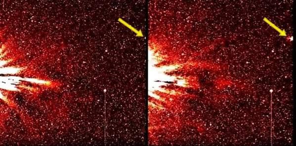 Sol responde a la señal de un enorme objeto espacial