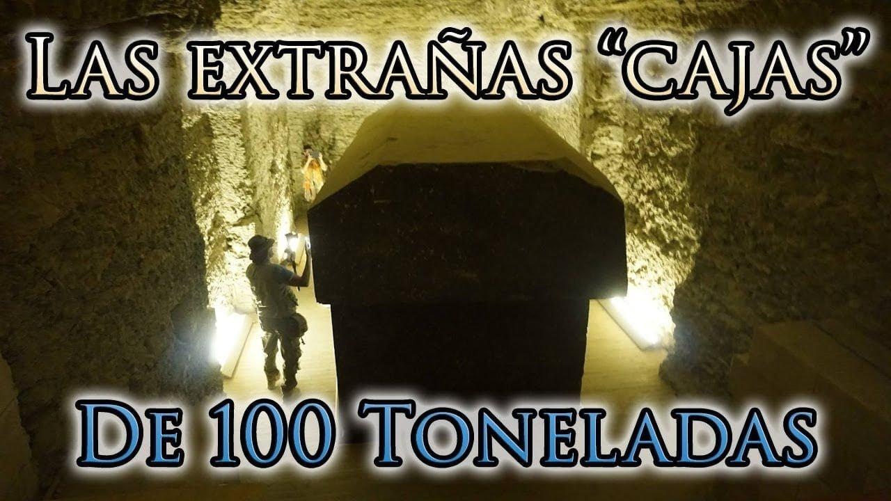 El Misterio de las Extrañas Cajas de 100 Toneladas Descubiertas en Egipto