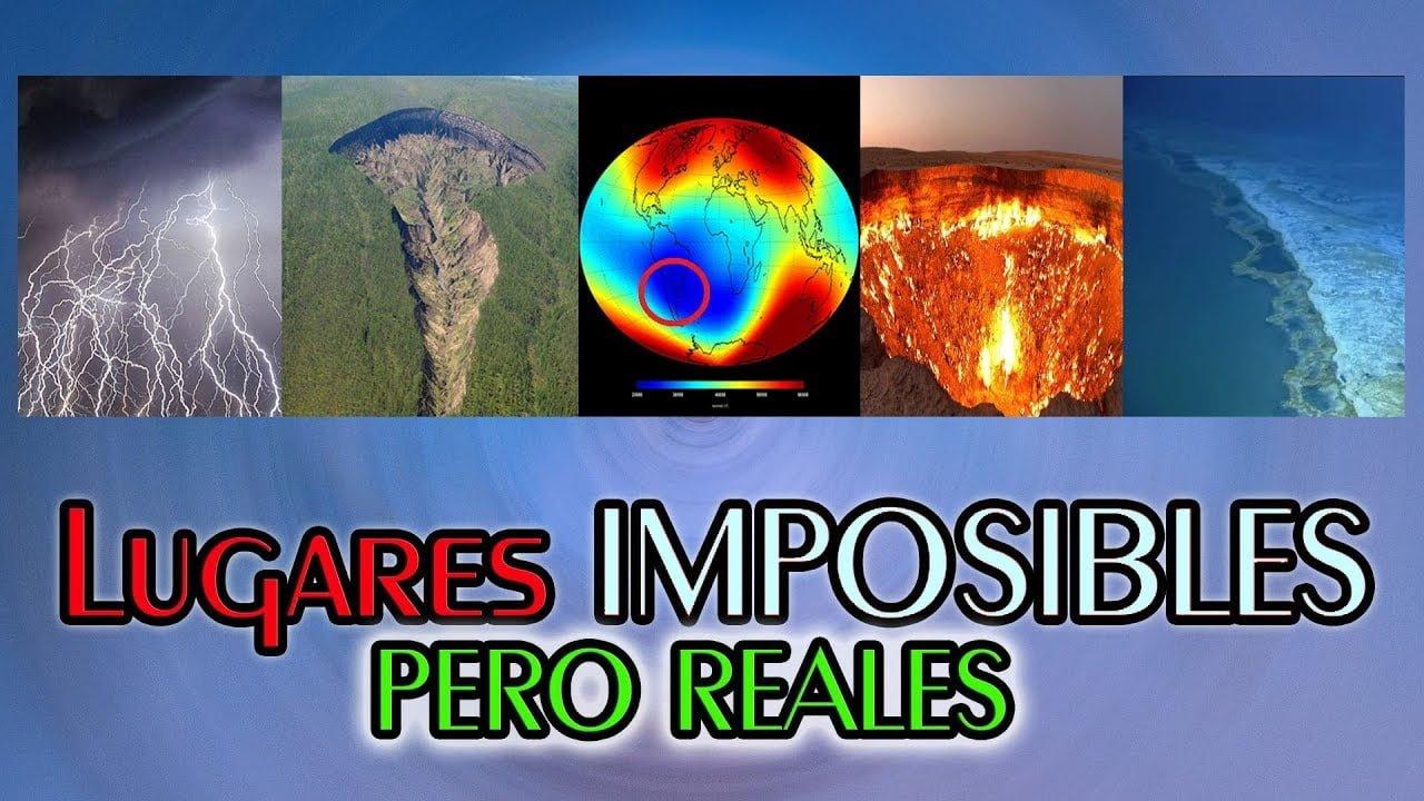 5 Lugares de la Tierra que NO Creerás que Existen