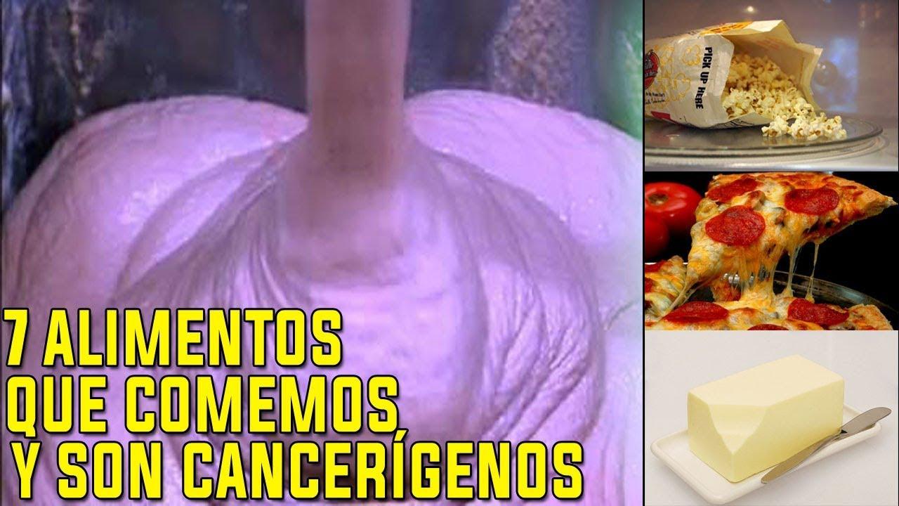 7 Alimentos que Comemos y son EXTREMADAMENTE CANCERÍGENOS