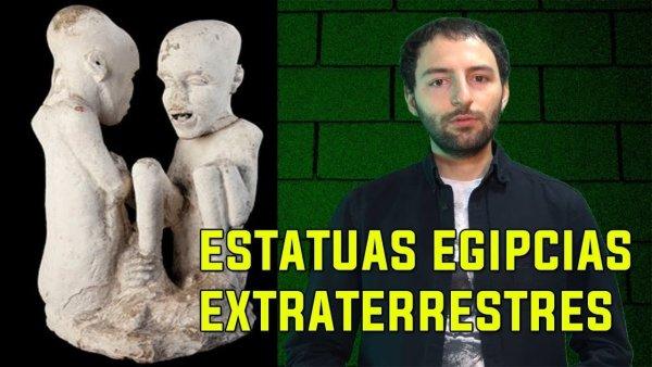 ¿Han encontrado estatuas EXTRATERRESTRES en Egipto?